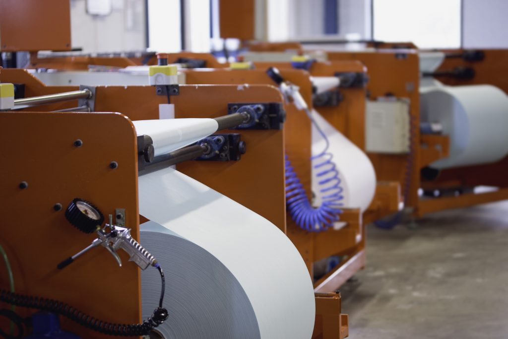 Roll maufacturing machines
